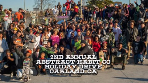 2nd Annual Abstract Habit Holiday Drive - Deluxe Distribution