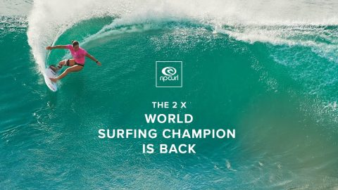 2x World Champion Tyler Wright Returns to Competition | Rip Curl