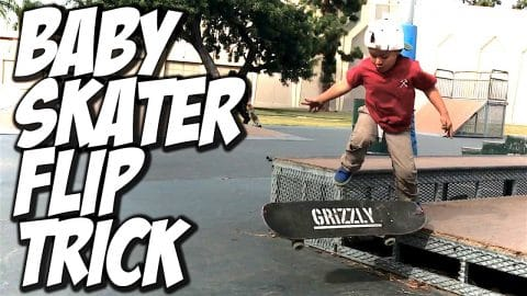 3 YEAR OLD BABY SKATER DOES FLIP TRICK ??? - A DAY WITH NKA - - Nka Vids Skateboarding