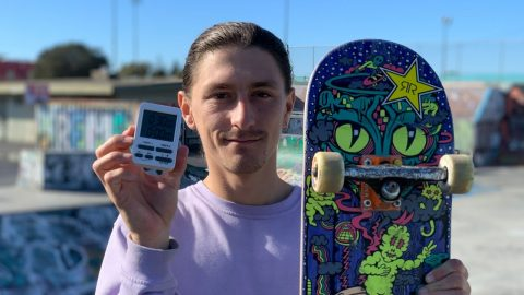 30 MINUTES WITH: JEREME KNIBBS @ TOWN PARK | Santa Cruz Skateboards | Santa Cruz Skateboards