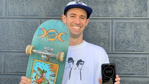 30 MINUTES WITH: KEVIN BRAUN AT NEWARK SKATEPARK! | Santa Cruz Skateboards | Santa Cruz Skateboards