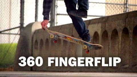 360 Fingerflip: Darryl Grogan || ShortSided - Brett Novak