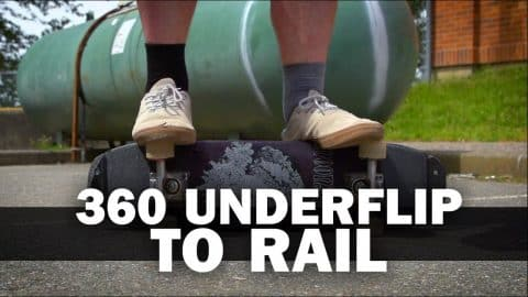 360 Underflip to Rail: Matthew Smithies || ShortSided - Brett Novak