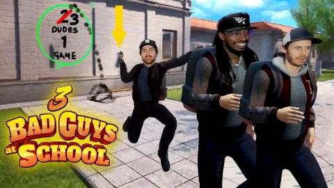 3dudes1game Goes Back To School And Cause Havoc! | Nine Club Highlights
