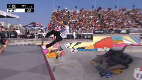 3rd Place - Jagger Eaton (USA) 87.13 | Huntington Beach, USA | 2018 Men's Vans Park Series | Park Series