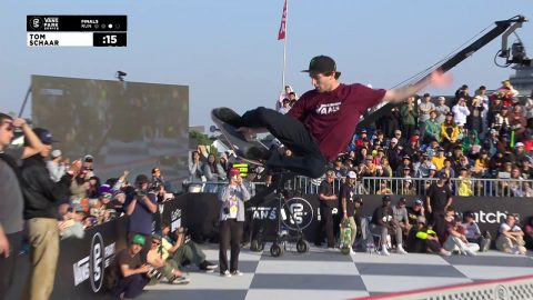 3rd Place - Tom Schaar (USA) 88.03 | Suzhou, CHI | 2018 Men's Vans Park Series Pro Finals | Park Series
