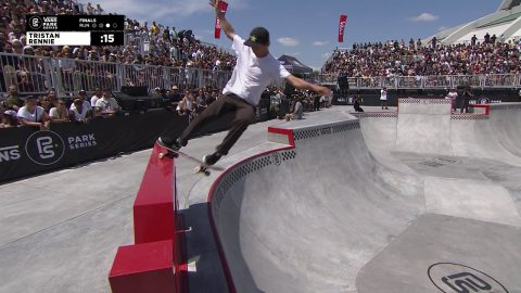 3rd Place - Tristan Rennie (USA) 81.73 | Montreal, CAN | 2019 Men's Pro Tour | Vans Park Series | Park Series
