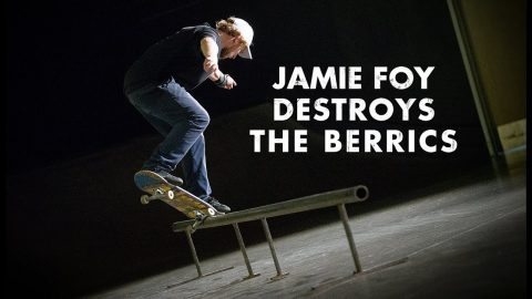 4 Minutes Of Jamie Foy Destroying The Berrics | The Berrics