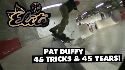 45 Tricks | 45 Years - Pat Duffy | Elite Urethane | OJ Wheels