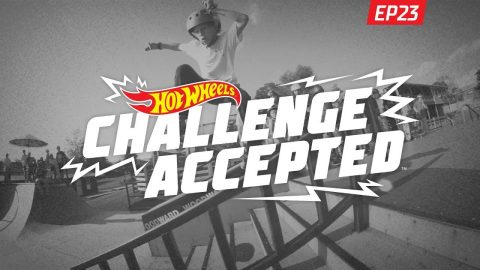 5-0 The Rail - Hot Wheels Challenge Accepted | Woodward Camp