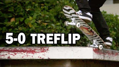 5-0 Treflip: Mike Paek || ShortSided - Brett Novak