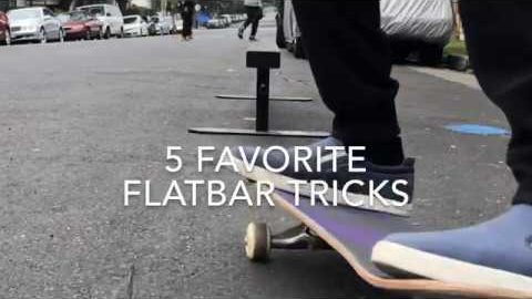 5 Favorite Flatbar Tricks with Spencer Nuzzi | ihatespencernuzzi