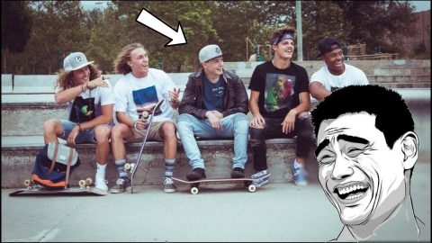 5 Funny Things All Skateboarders do | Lamont Holt