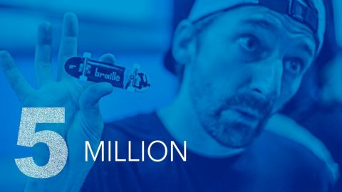 5 MILLION SUBSCRIBER & TOY LAUNCH LIVESTREAM | Braille Skateboarding