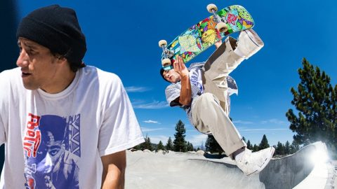 5 Minutes of PURE Erick Winkowski: Camping With The Homies! | Santa Cruz Skateboards | Santa Cruz Skateboards