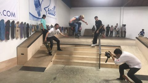 5 STAIR CONTEST LIVE STREAM! - Braille Skateboarding