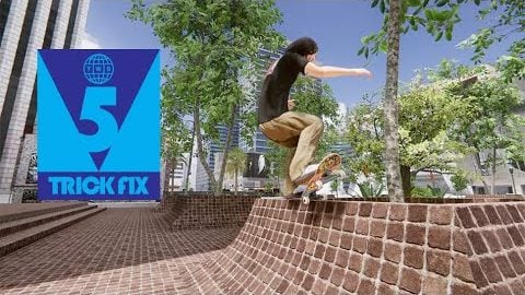 5 Trick Fix: Skater XL | Game Footage of Evan Smith, Tiago Lemos, Brandon Westgate, Tom Asta | TransWorld SKATEboarding