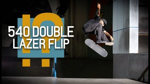 540 Double Lazer Flip?! Jordan Mourning NBD | The Berrics