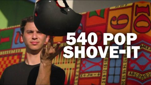 540 Pop Shove-it: Josh Katz || ShortSided - Brett Novak