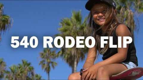 540 Rodeo Flip: Sky Brown || ShortSided - Brett Novak