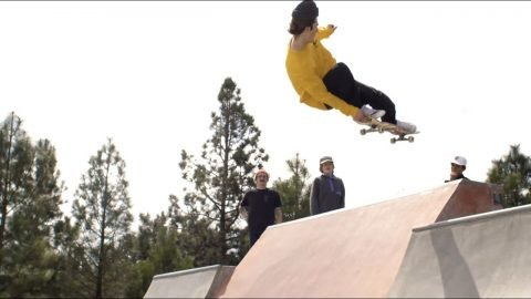 540's and Yellow Long Sleeves: The CCS Skate Team in Bend Oregon - CCS