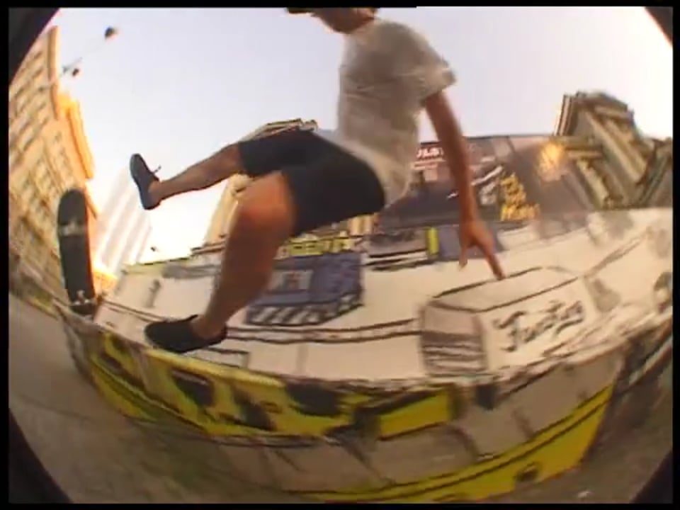 Justin Wagener for SOUR SKATEBOARDS   Turtle Productions