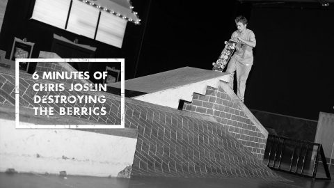 6 Minutes Of Chris Joslin Destroying The Berrics - The Berrics