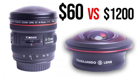 $60 Fisheye Lens for your Phone VS $1200 Fisheye Lens for your DSLR (Filming Skateboarding) | Max Williams