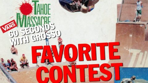 60 Seconds With Grosso: Contests | Jeff Grosso's Love Notes | VANS | Vans