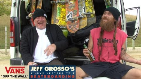60 Seconds with Grosso: Lee Ralph on Dave Andrecht | Jeff Grosso's Love Notes | VANS - Vans