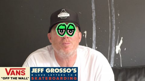 60 Seconds with Grosso: Love Notes to Stickers | Jeff Grosso's Love Notes | VANS - Vans