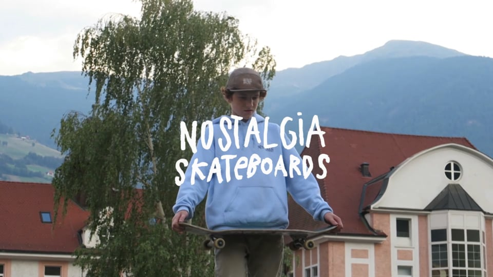 WELCOME TO THE TEAM - JAKOB ENGL | Nostalgia Skateboards
