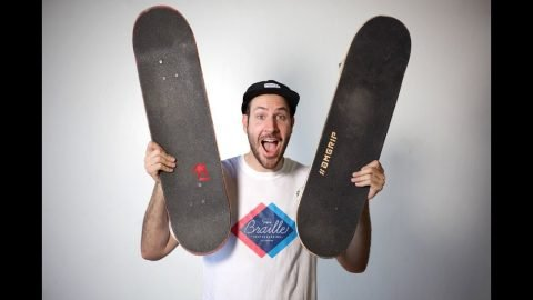 8.0 SKATEBOARD VS 8.25 SKATEBOARD - Braille Skateboarding