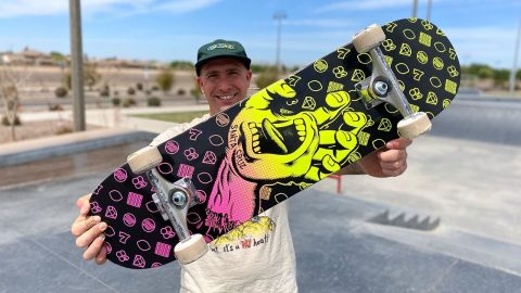 8.0 X 31.6 JACKPOT HAND PRODUCT CHALLENGE w/ ANDREW CANNON! | Santa Cruz Skateboards | Santa Cruz Skateboards