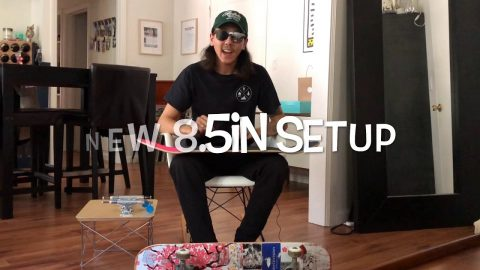 8.5in Skateboard Setup with Spencer Nuzzi & Why | ihatespencernuzzi