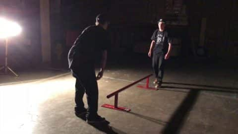 8 foot long round rail by OC Ramps - OC Ramps
