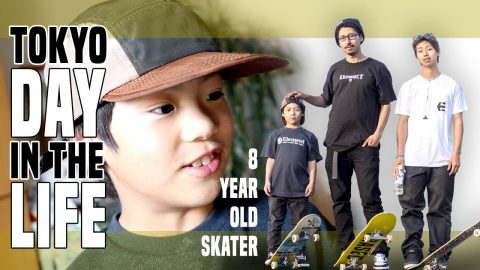8 YEAR OLD SKATER DAY IN THE LIFE - Luis Mora