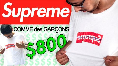 800 DOLLAR SUPREME T SHIRT SURPRISE | Luis Mora