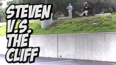 9 YEAR OLD STEVEN VASQUEZ V.s. THE CLIFF - A DAY WITH NKA - - Nka Vids