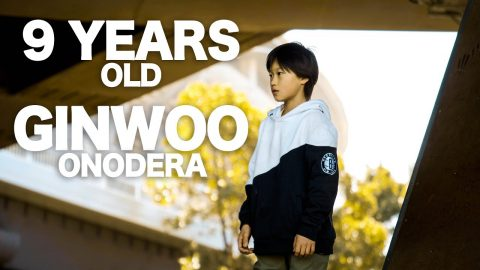 9 Years Old Japanese Skateboarder - Ginwoo Onodera | tomothehomeless