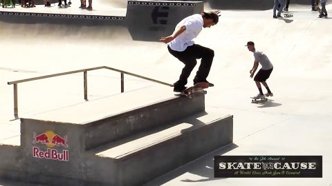 9th Annual Sheckler Foundation Skate For A Cause - TransWorld SKATEboarding
