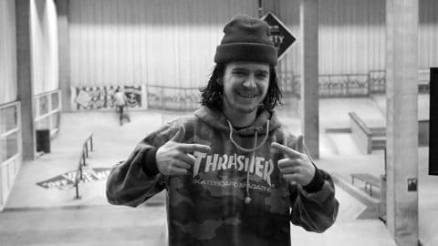 A Beer With - Bas van Beek in Skatepark de Fabriek - Flatspot Magazine