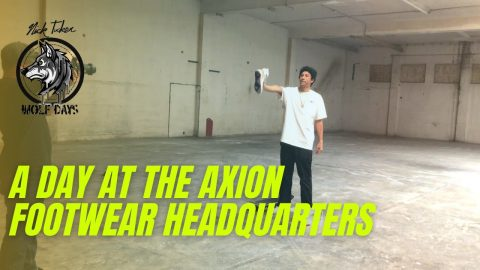 A Day At The Axion Footwear Headquarters | NICKTUCKER