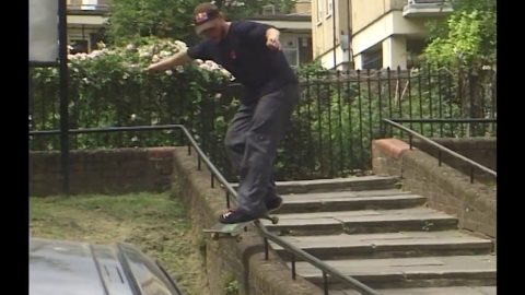 A day in London with Jamie Foy and Brandon Biebel | Freeskatemag