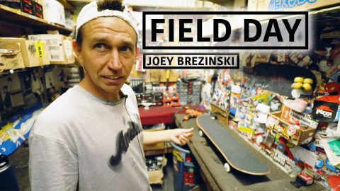 A Day In The Life Of Joey Brezinski | FIELD DAY | Red Bull Skateboarding