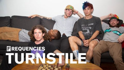 A day in the life of Turnstile, hardcore's most ambitious band: The FADER x WAV Present Frequencies | The FADER