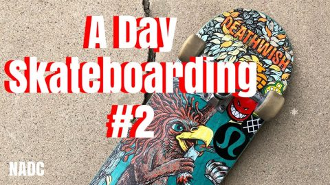 A Day Skateboarding #2 NADC Neenos Essentials skateboardingisfun | Neen Williams