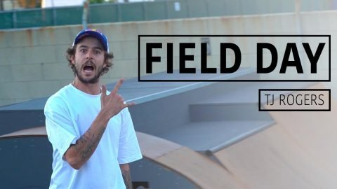 A Day with Pro Skateboarder TJ Rogers | FIELD DAY | Red Bull Skateboarding