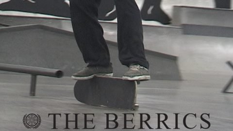 """A Happy Medium"" Berrics United Nations RAW footage 