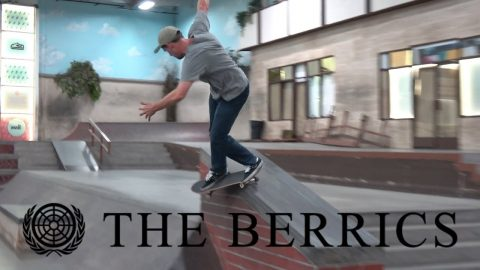 "A Happy Medum x Berrics ""United Nations"" BTS 